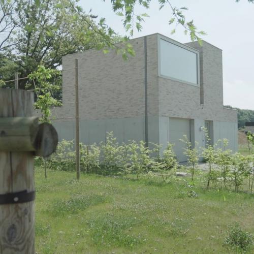 unieke woningen met dezelfde gevelsteen