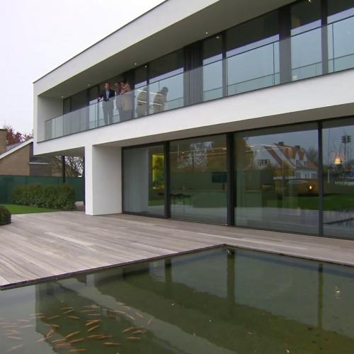 tijdloze, strak moderne villa