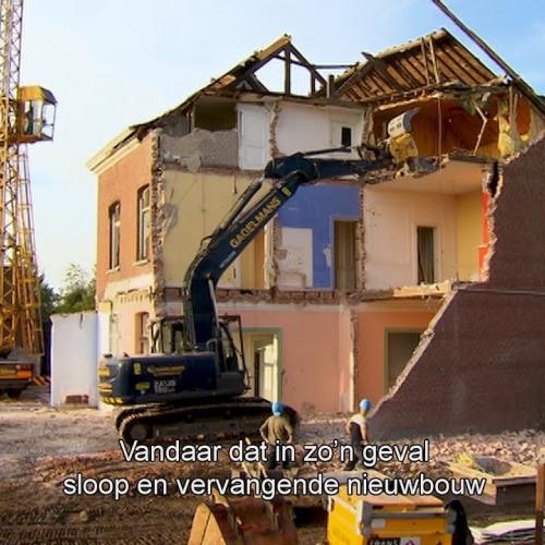 btw-tarief bij sloop en wederopbouw