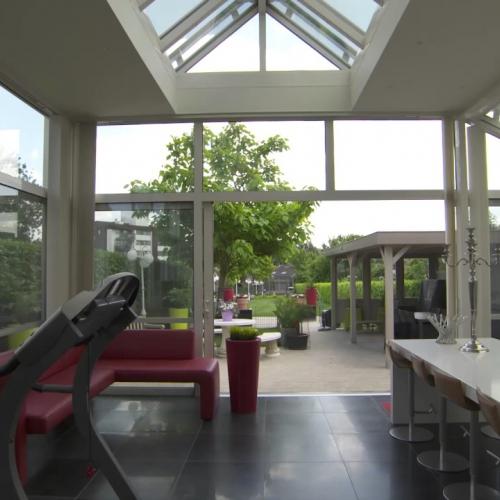 stijlvolle veranda