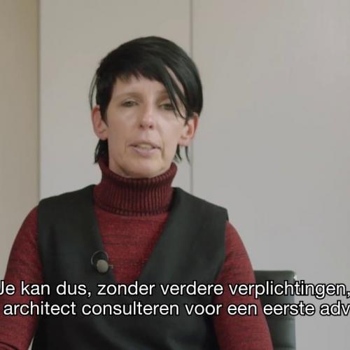 raadpleeg een architect bij aankoop van uw woning