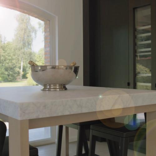 kijkvilla brussel - keuken
