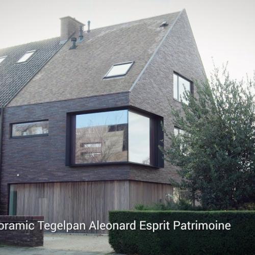 Knappe renovatie van een halfopen bebouwing in Gent